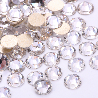 2088 SS16 Clear Crystal Glass Non Hotfix Nail Rhinestone