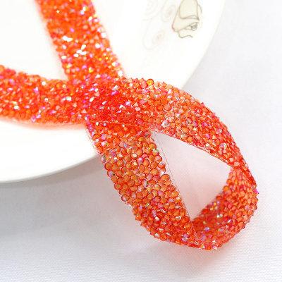 Resin Hot Fix Rhinestone Trimming