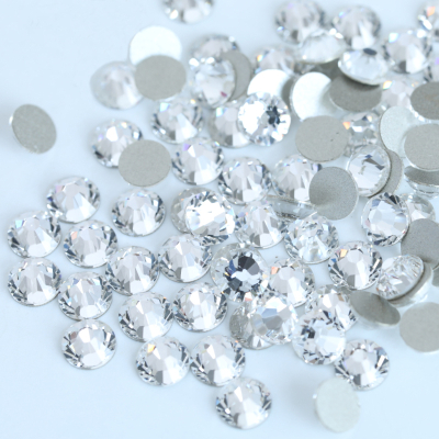 Flatback Glass Non Hotfix Rhinestone for Nail Art Decoration