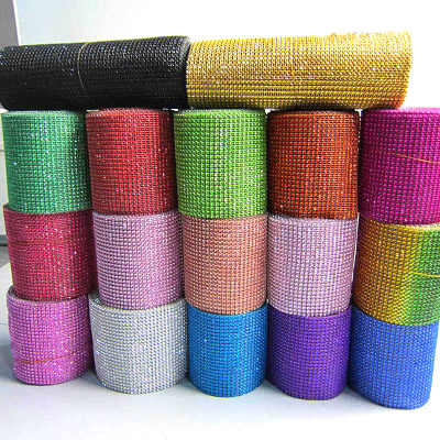 Factory wholesale price 24 lines plastic trimming mesh for decoration
