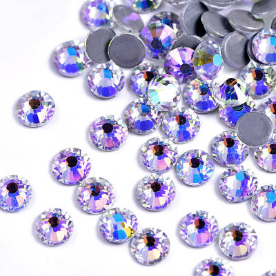 Wholesale 2088 AB Crystal Glass Non Hot Fix Nail Rhinestones