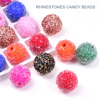 Candy  Rhinestone Beads